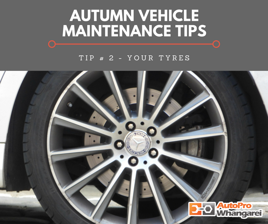 Tip # 2 - Your Tyres
